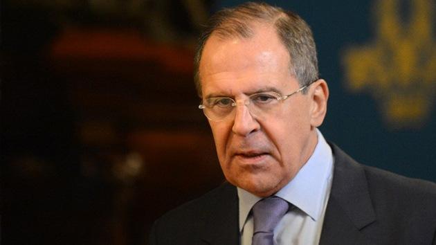 El canciller ruso, Serguéi Lavrov, llega a Venezuela para despedir a Chávez