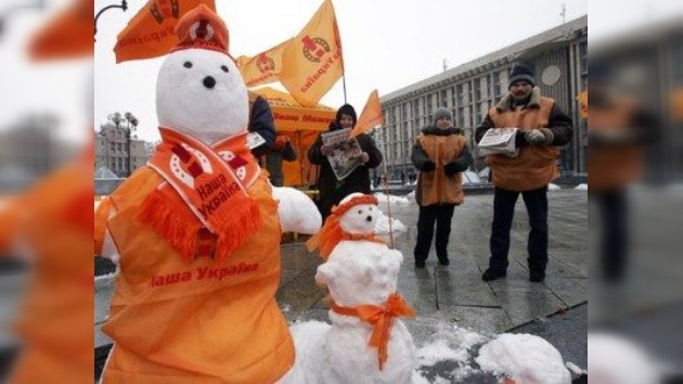 El Día de la Libertad 'naranja' deja de ser fiesta en Ucrania