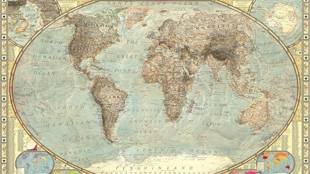 Un mapamundi muestra los estereotipos occidentales sobre los distintos países