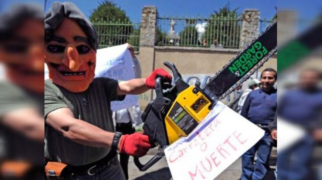 Protestas en apoyo a los indígenas amazónicos en Bolivia