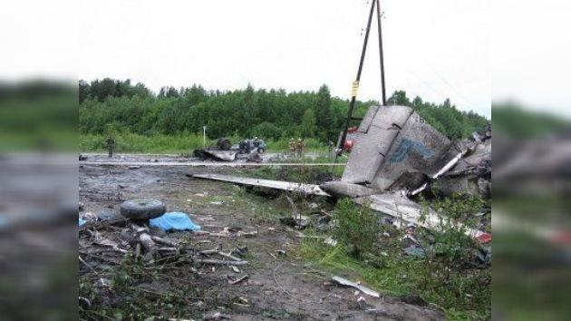 Aterrizaje fatal de un Tu-134 en el norte ruso