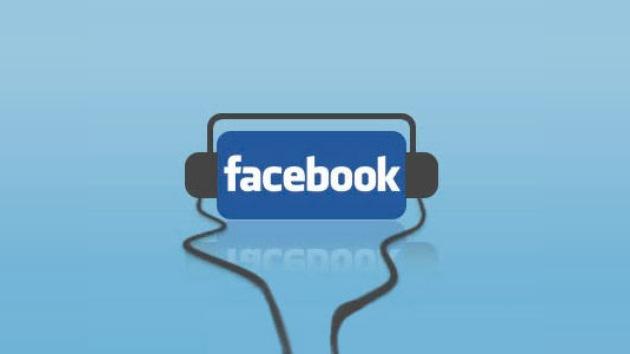 Facebook, ahora con música