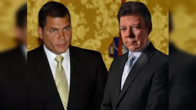 Correa dice que Juan Manuel Santos puede ser arrestado si visita Ecuador