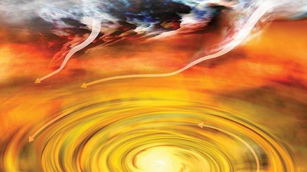Hallan una estrella-bebé 'en edad de crecer': podría crear su propio sistema de planetas