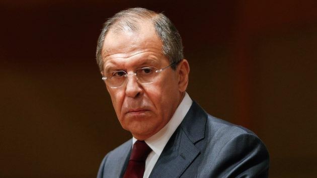 Lavrov sobre las sanciones: Debe prevalecer el sentido común y no la presión desde fuera