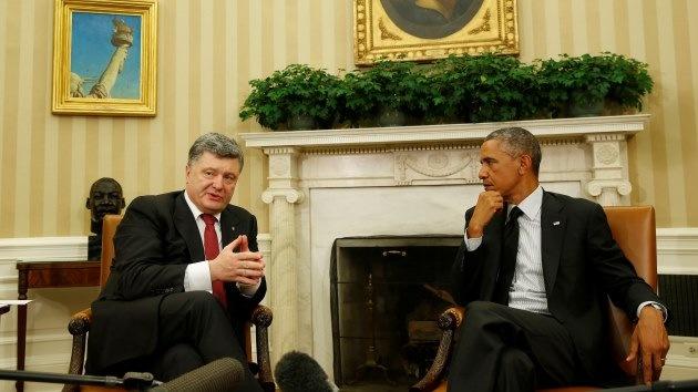 """Prensa de EE.UU. """"Obama decidió no continuar apoyando a Kiev por falta de dinero"""""""
