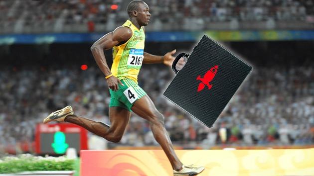 Ofrecen a Usain Bolt acciones de una compañía de entrega rápida