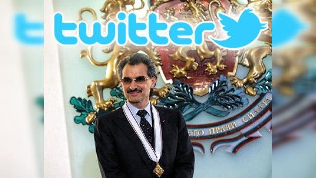Un príncipe saudí invierte 300 millones de dólares en Twitter