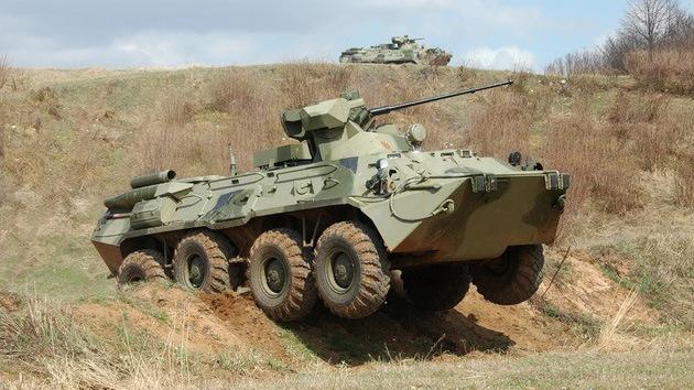 Rusia prueba su nuevo vehículo de transporte de personal de infantería