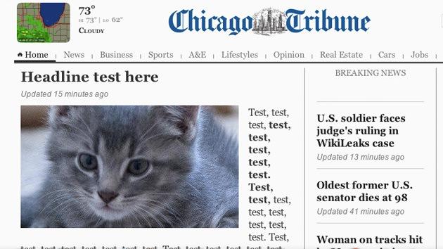 El curioso despiste del 'Chicago Tribune' en su portada