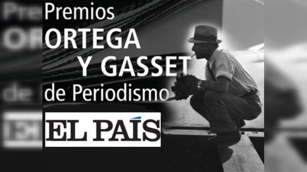 En España entregan Premios Ortega y Gasset de Periodismo