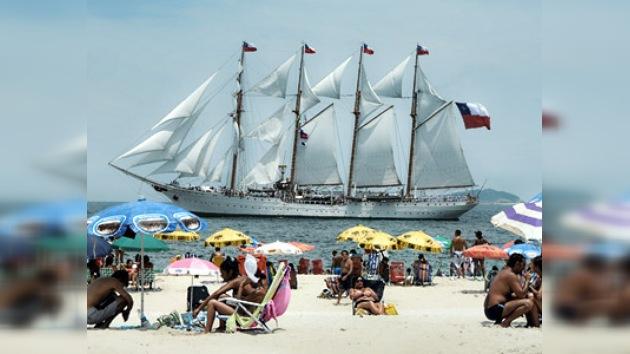 Se inicia en Río de Janeiro la Regata Bicentenario 'Velas Sudamérica 2010'