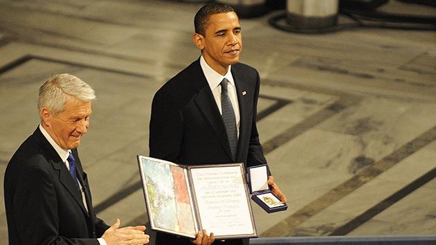 """Congresista republicano: """"Cambiaré mi voto si Obama devuelve el Nobel de la Paz"""""""