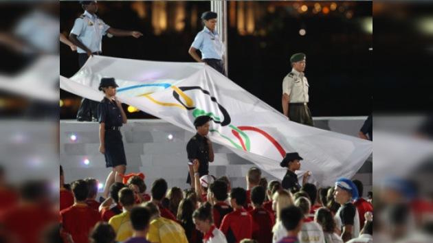 Jacques Rogge clausura los I Juegos Olímpicos de la Juventud