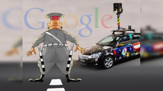 Problemas de Google Street View, ahora en Inglaterra