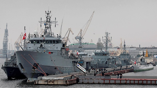 Fotos: Buques de la OTAN atracan por primera vez en San Petersburgo