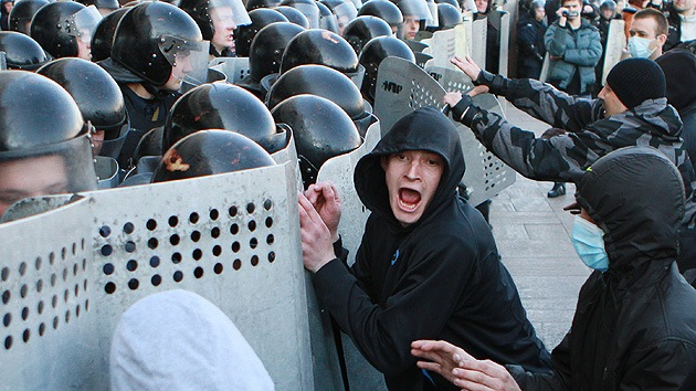 Minuto a Minuto: el inicio de una guerra civil en Ucrania