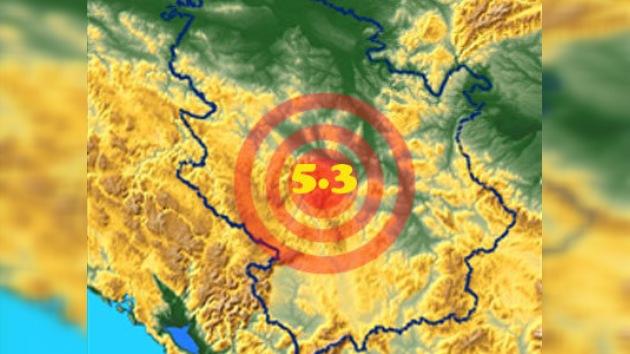 Terremoto de 5,3 grados deja como saldo dos muertos en Serbia
