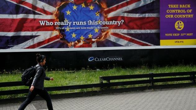 """Ganador de los comicios al Parlamento Europeo: """"El Reino Unido va a salir de la UE"""""""