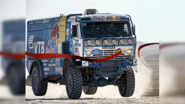 Chaguin, Sainz, Despres y Patronelli se coronan campeones del Dakar 2010