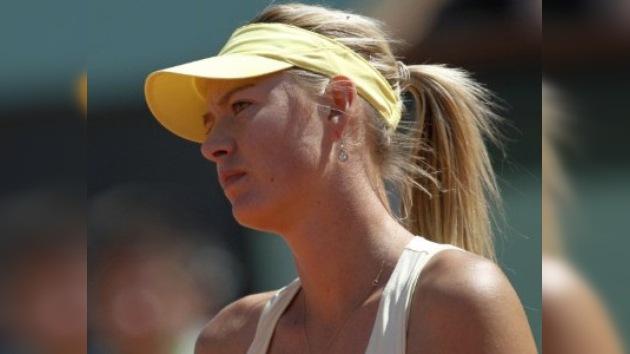 María Sharápova se despide de Roland Garros tras caer en semifinales ante Li Na