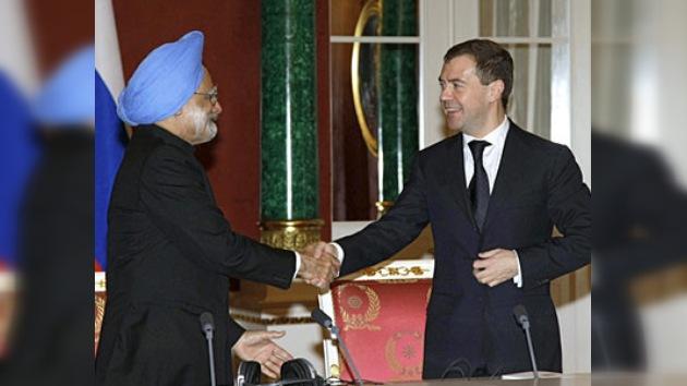 Rusia construirá 12 bloques de centrales nucleares en la India