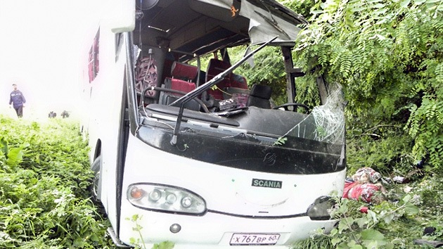 Ucrania: un accidente con un bus de peregrinos rusos deja 14 muertos