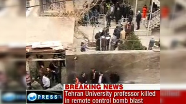 Muere un físico nuclear iraní en la explosión de una bomba