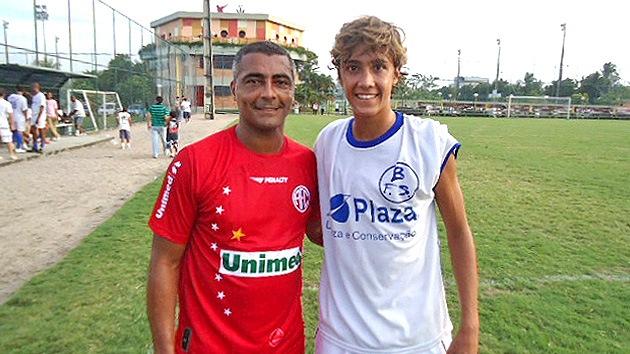 El hijo de Romario jugará en el FC Barcelona