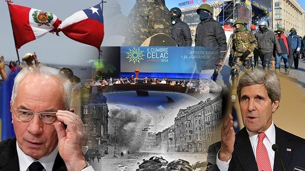 Balance semanal: La Celac, nueva frontera entre Chile y Perú y búsqueda de la paz siria