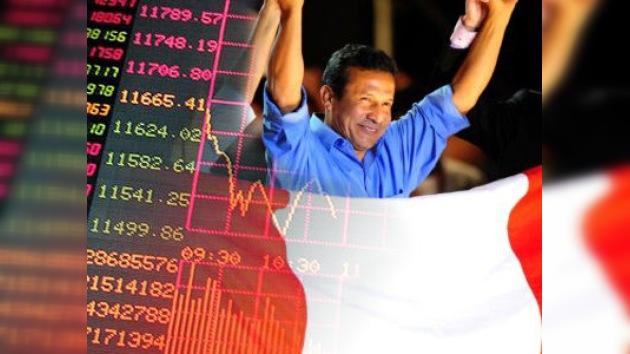 Humala triunfa y la Bolsa de Lima sufre la mayor caída de su historia