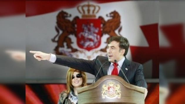 Saakashvili pide ayuda a Europa contra Rusia