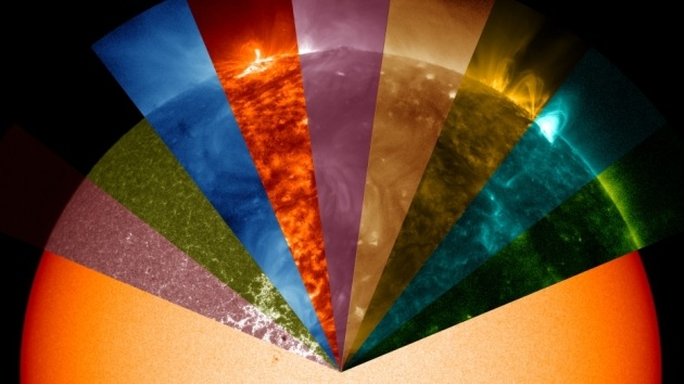 VIDEO: La NASA le 'saca los colores' al Sol