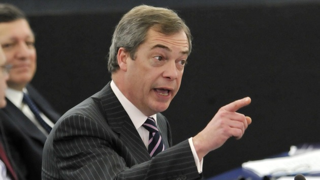 """""""La UE actúa como Mugabe"""", según un político británico en declaraciones a RT"""