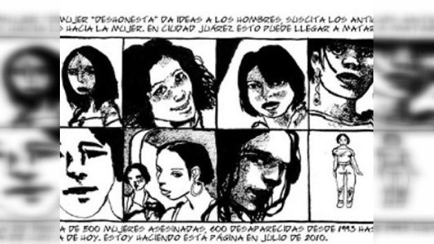 Los juareneses también sueñan: un cómic francés retrata la vida interior de Ciudad Juárez