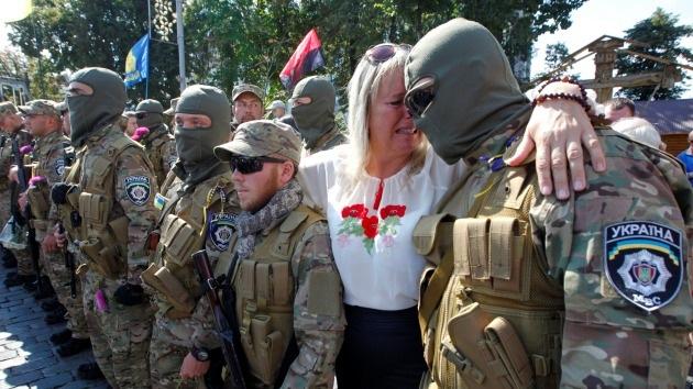 """Los militares ucranianos ya no creen en Kiev: """"¿Por qué nos habéis abandonado?"""""""
