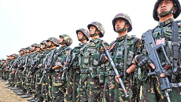 Los gastos militares de China superarán los 170.000 millones de dólares en 2017