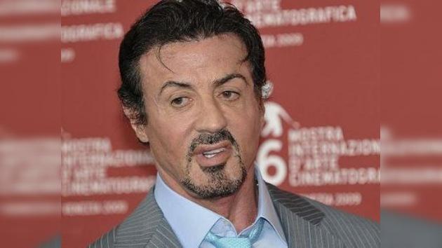 Stallone se fracturó el cuello al rodar una pelea para su última película
