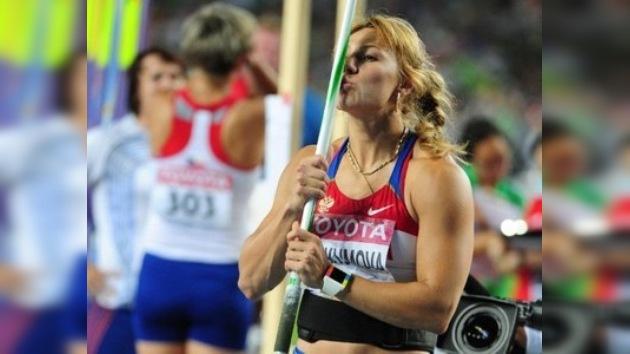 La rusa María Abakúmova, campeona mundial de jabalina