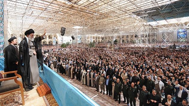 """Irán: """"Europa debe saber que algún día EE.UU. le dará la espalda"""""""