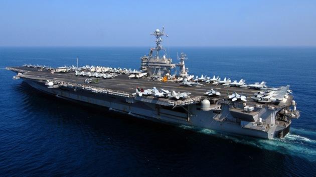 Cuenta regresiva: En unos días EE.UU. enfilará a tres de sus portaaviones contra Irán