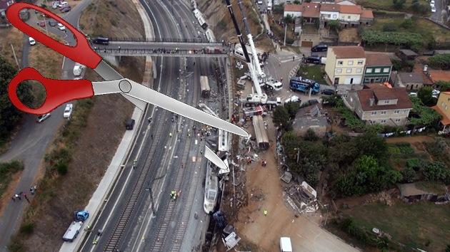 La causa del accidente en Galicia: ¿exceso de velocidad o de recortes?