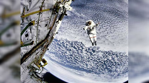 Caminata espacial en vivo en la web de RT