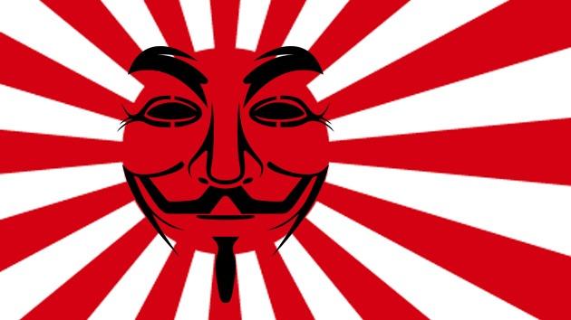 Anonymous ataca a sitios del Gobierno y partidos políticos japoneses