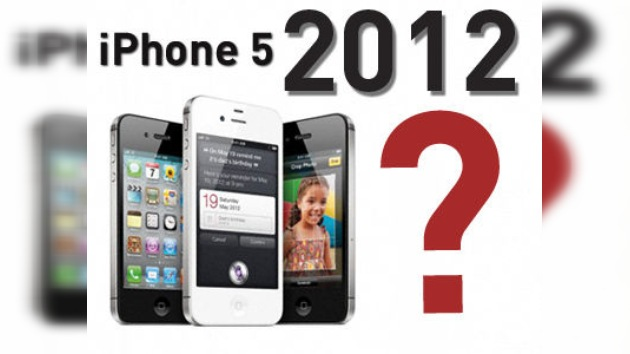 El iPhone 5 de Apple no llegará al menos hasta 2012