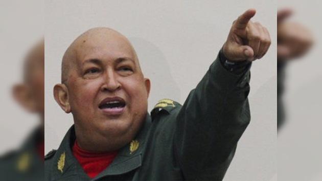 Chávez denuncia la manipulación mediática sobre Libia