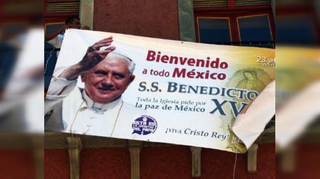 La visita del Papa Benedicto XVI a México, en directo
