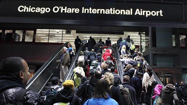 Un incendio paraliza dos aeropuertos internacionales de Chicago