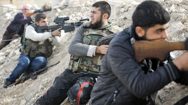 Países aliados de la oposición siria entrenarán a los rebeldes