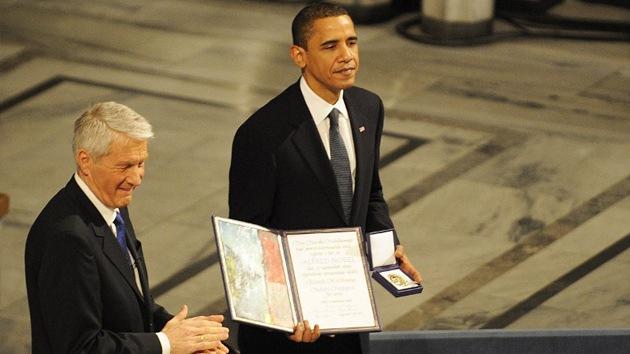 """La Casa Blanca consideró una """"adulación"""" el Premio Nobel a Obama en 2009"""